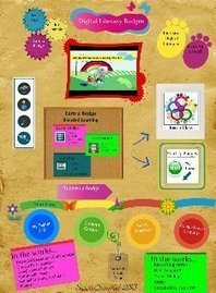 Digital Literacy Badges: badges, blended learning, edtech, tech literacy | Glogster EDU - 21st century multimedia tool for educators, teachers and students | Pedagogy of Engagement: Literacy and Technology | Scoop.it
