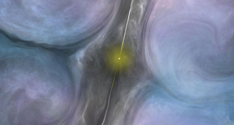 'Perfect storm' quenching star formation around a supermassive black hole | Amazing | Scoop.it