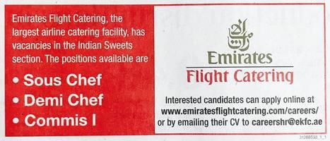Emirates Flight Catering Required Staff   Latest Jobs in Dubai   Across UAE    Scoop Latest Jobs in Dubai   Across UAE  Page 2   Scoop it. Flight Kitchen Jobs In Dubai. Home Design Ideas