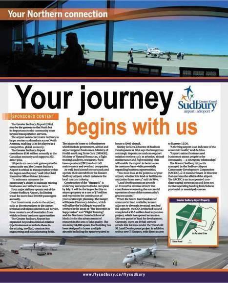 Sudbury Progress 2015 | AirportBox | Scoop.it