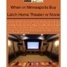 Home Theater Systems MN