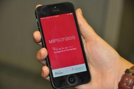 MiPsoriasis, app para apoyar a pacientes y profesionales sanitarios en el seguimiento de la Psoriasis | Las Aplicaciones de Salud | Scoop.it