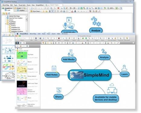 SimpleMind Desktop | simplemind | Recursos para la reflexión y el aprendizaje | Scoop.it