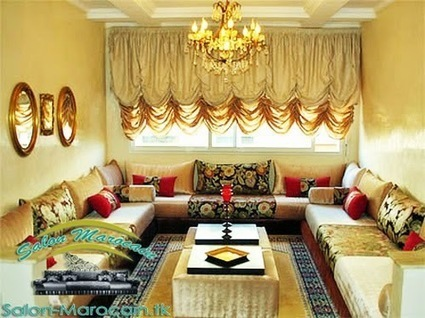 Décoration Salon Marocain Moderne: Salon...