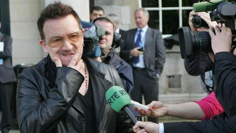U2 tax policy in line with Government 'philosophy' HAH!!! - Bono | Doing business in Ireland | Scoop.it