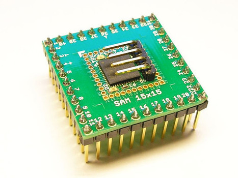 SAM 15×15 is a Tiny Arduino Zero Compatible Board based on Atmel SAMD21G18 MCU | Embedded Systems News | Scoop.it