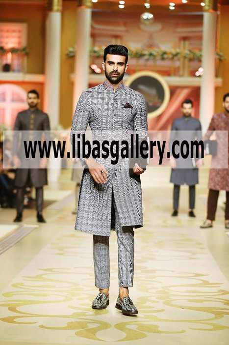 Beautiful Wedding Sherwani 2018 For Groom For N