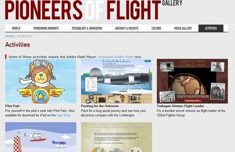 """Pioneers Of Flight"" Is A Nice Collection Of Smithsonian Interactives 