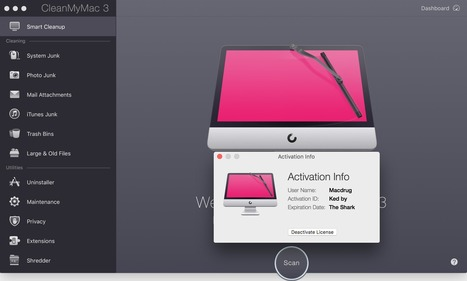 CleanMyMac 3.6 Cracked Fully Activated + Activation Code | sotware | Scoop.it