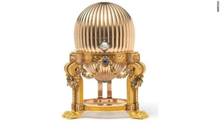 Scrap metal find turns out to be $33 million Faberge golden egg | Antiques & Vintage Collectibles | Scoop.it