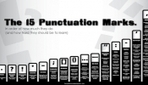 Chart: How To Use 15 Punctuation Marks, In Order Of Difficulty - DesignTAXI.com | The Learning Lounge | Scoop.it