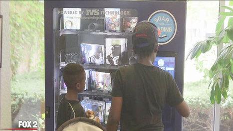 Vending machines offer children's books for free in Detroit | children's books | Scoop.it