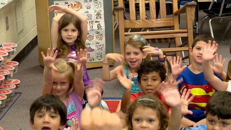 Spanish immersion program has kindergartners speaking the language | Spanish in the United States | Scoop.it