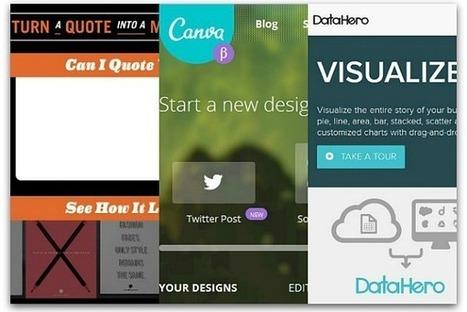 6 free visual marketing tools   Writing for Social Media   Scoop.it