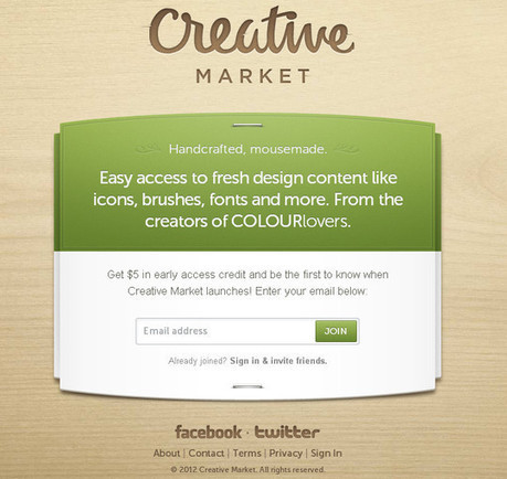 40 Creative Examples Of Coming Soon Page Design - Smashing Apps | timms brand design | Scoop.it