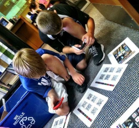 Using QR Codes to Enhance Learning | Tools and Apps for School Libraries | Scoop.it