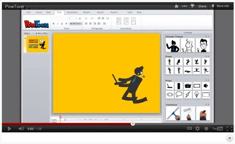 PowToon - Brings Awesomeness to your presentations   Teaching in Higher Education   Scoop.it