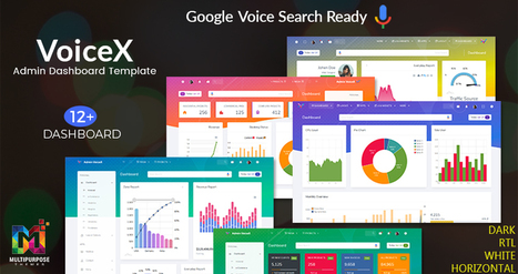 VoiceX University Admin Dashboard UI Kit   Ecom