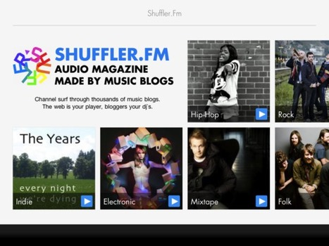 Shuffler.fm brings blog-based music discovery to iPad - GigaOm | Eclectic Music Blogs | Scoop.it