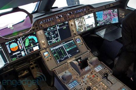 Airbus A350 cockpit tour with test pilot Jean-Michel Roy [VIDEO] | Tech Jam | Scoop.it