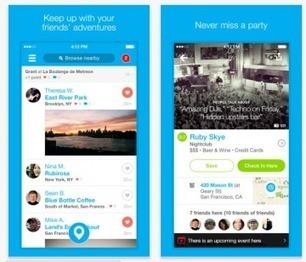 Foursquare 7.0 passe complètement à iOS 7 | Geeks | Scoop.it