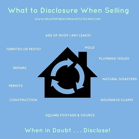 What to Disclose when Selling your Newport Beach Home | Newport Beach Real Estate | Scoop.it