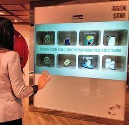 Un mur digital et une tablette chez BNP Paribas pour choisir ses ... - Réseaux-Télécoms.net | Opinion et tendances numériques | Scoop.it