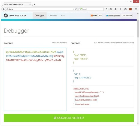 How to add JWT Authentication to a CakePHP 3 REST API | CakePHP Reporter | Scoop.it