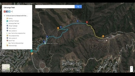 Create custom, shareable Google Maps with new My Maps tool   Google + Applications   Scoop.it
