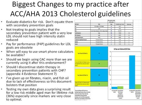 New Cholesterol guidelines from ACC/AHA. | Heart and Vascular Health | Scoop.it