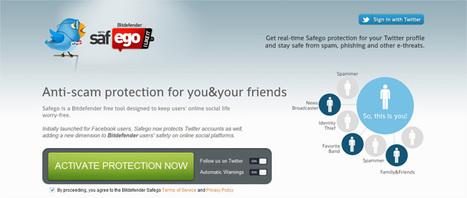 Sécurisez votre compte Twitter avec BitDefender Safego | Time to Learn | Scoop.it