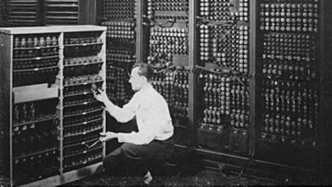 """16 avril 1955, le jour où """"l'ordinateur"""" est né   Seniors   Scoop.it"""