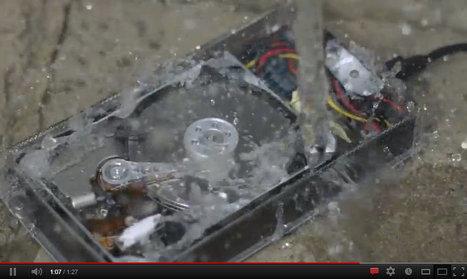 Impressionnant : un disque dur filmé au ralenti | Technologies & web - Trouvez votre formation sur www.nextformation.com | Scoop.it