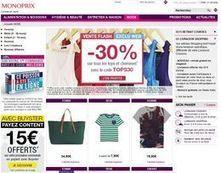 Monoprix étend le « retrait en magasin » à son offre de mode en ligne | E-marketing Topics | Scoop.it