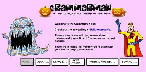 Grammarman Comic for ESL/EFL | Ignite Reading & Writing | Scoop.it