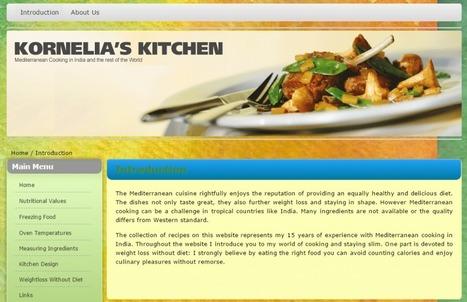 Mediterranean Cooking in Kornelia's Kitchen | Promote4you | Scoop.it
