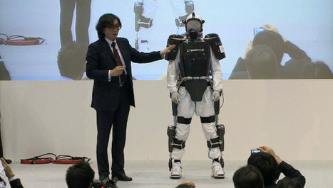 HAL Powered Exoskeleton to Help Cleanup Fukushima Post Meltdown (VIDEO) | Robotics Frontiers | Scoop.it