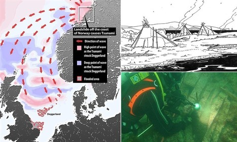 Tsunami 8,200 years ago wiped out tribes on 'Britain's Atlantis' | microburin mesolithic archaeology | Scoop.it