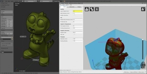 3D modeling program Blender now supports 3D printing | Creative coding | Scoop.it
