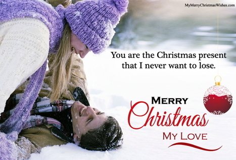 Quotes her love Xmas for
