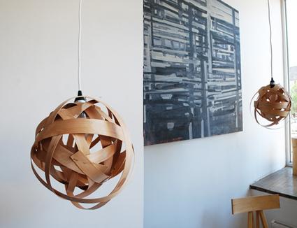DIY   Une suspension design en bois   décoration & déco   Scoop.it
