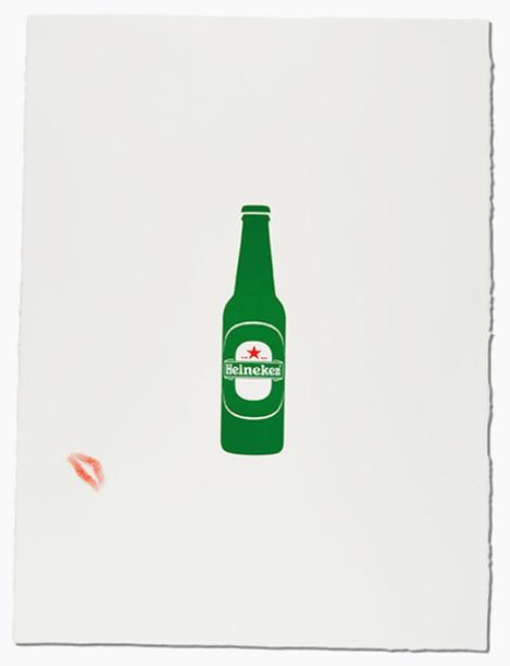 Des légendes signent et customisent des affiches Heineken pour RSF | Tendances publicitaires et marketing | Scoop.it