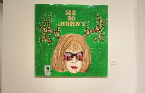 Sarah Ashley Longshore- Me So Horny, 2012 | Contemporary Art exhibited at Art Basel of Miami | Scoop.it