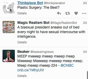 Slate's Seven Favorite Twitter Bots of 2015 | Twitter Bots | Scoop.it