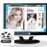 Can I embed MP4 video into digital catalogs and magazines with Slide HTML5?