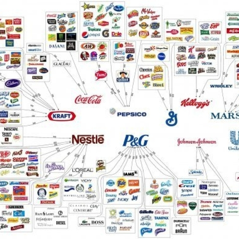 10 Corporations Control Almost Everything You Buy — This Chart Shows How | Masada Geography | Scoop.it