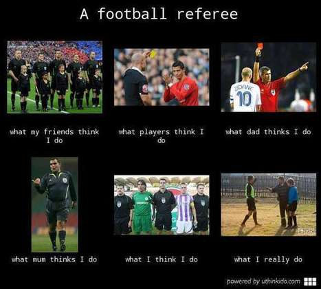 Football Referee | What I really do | Scoop.it
