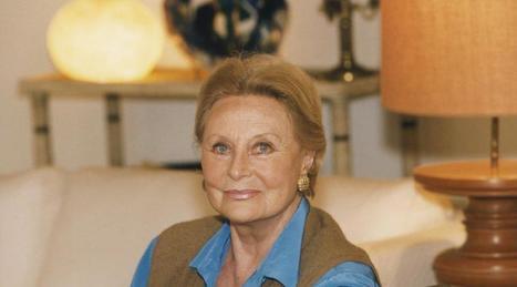 La comédienne Michèle Morgan est décédée à l'âge de 96 ans | Ma Bretagne | Scoop.it