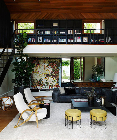 Art House by Sarah Davison Interior Design | Home Adore | Real Estate | Scoop.it