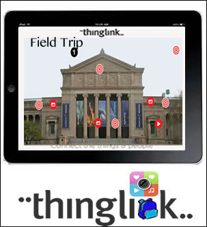 Using ThingLink Beyond the Classroom Walls | 21st Century Research and Information Fluency | Scoop.it